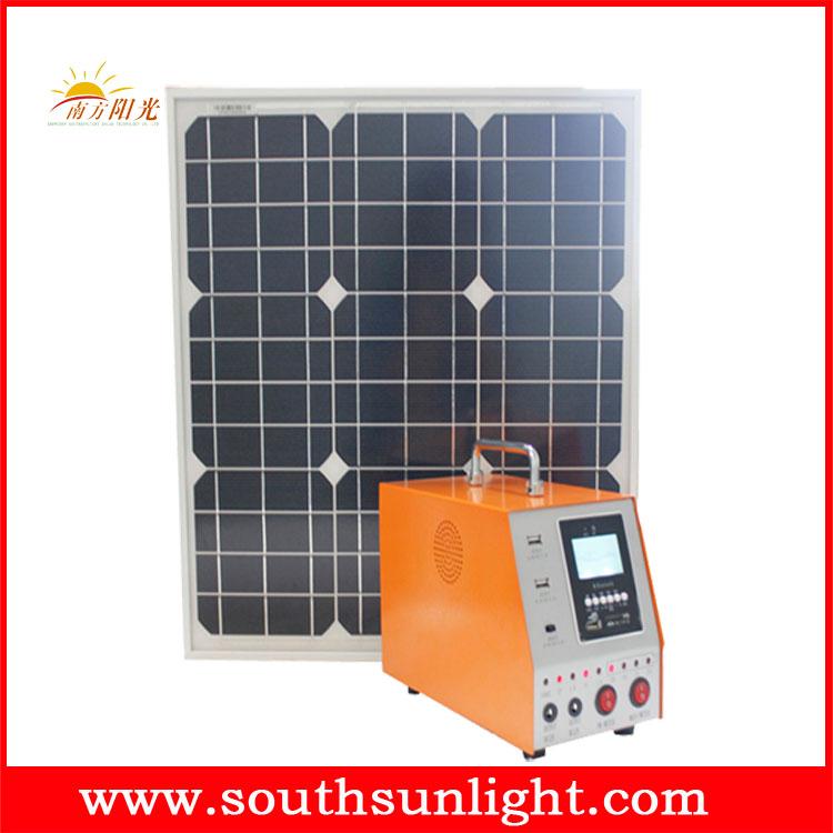 30W 太阳能发电机 (带市电充电)