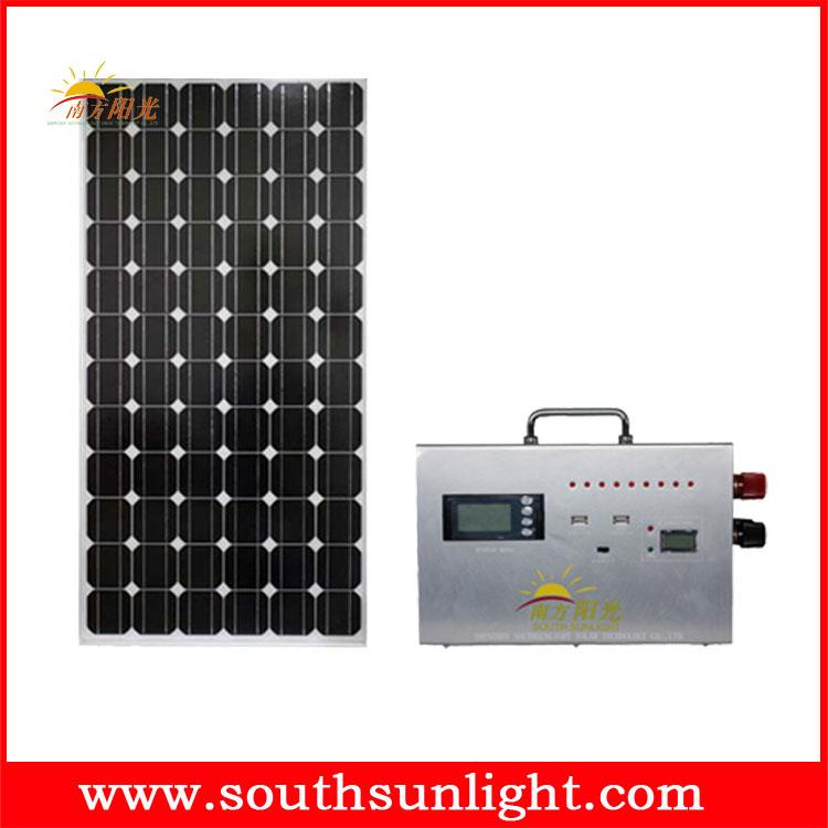 外接蓄电池太阳能发电系统