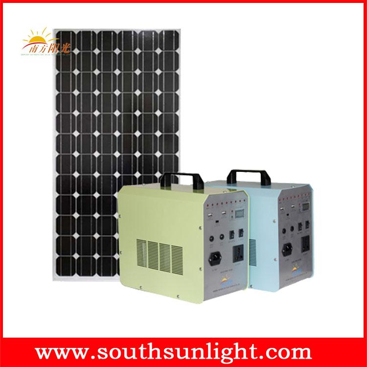 60W 便携式太阳能发电系统