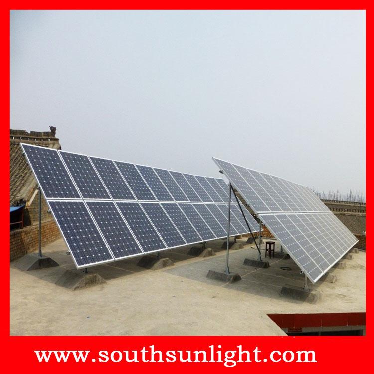 2000W太阳能离网发电系统