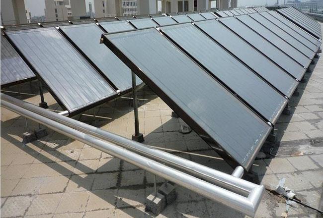 南京无锡苏州平板太阳能热水工程找江苏欧贝