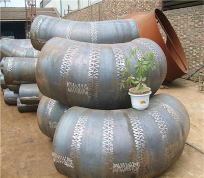 新疆供应对焊45度虾米腰弯头价格 中石油20G弯头厂家