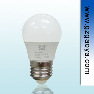 3W 迷你型LED球泡灯  E27 螺口  家居照明好帮手