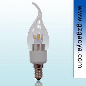 高亮度 显色指数80以上 3w E14 LED蜡烛灯泡