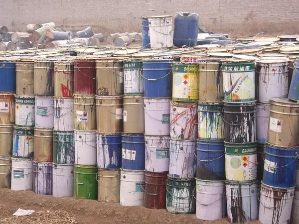 上海宝山区回收库存报废油漆