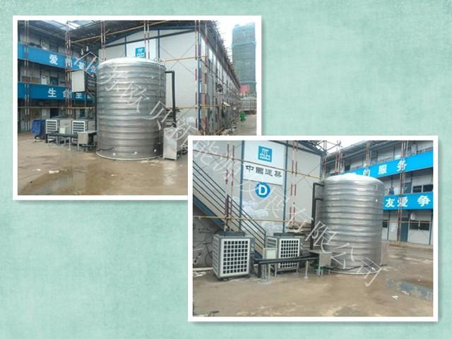 江苏欧贝提供工地员工洗浴热水系统方案