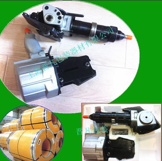 汽车零部件气动打包机/进口手动钢带打包机