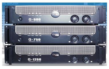 Mission Pro 美声功放Q500 专业后级功放