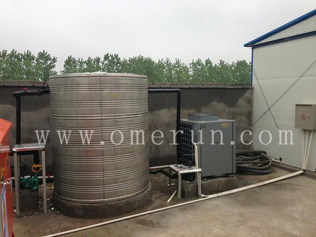 江苏欧贝签约无锡马山派出所空气能热水工程