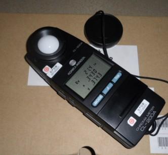 美能达CL-200A色彩照度计, 大量现货。