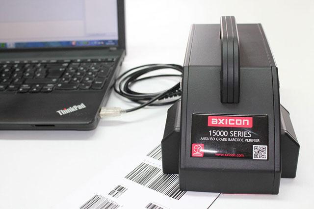 英国Axicon 15500條碼檢測儀