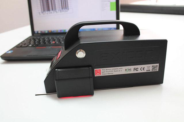 英国Axicon 15000码制检测器