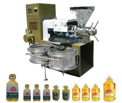 小型豆油榨油机供应,榨油机运行中的损坏