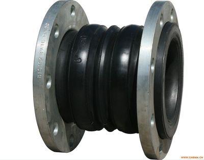 巩义万泉橡胶接头经各种耐酸碱硫化成不同DN600KXT双球体橡胶接头