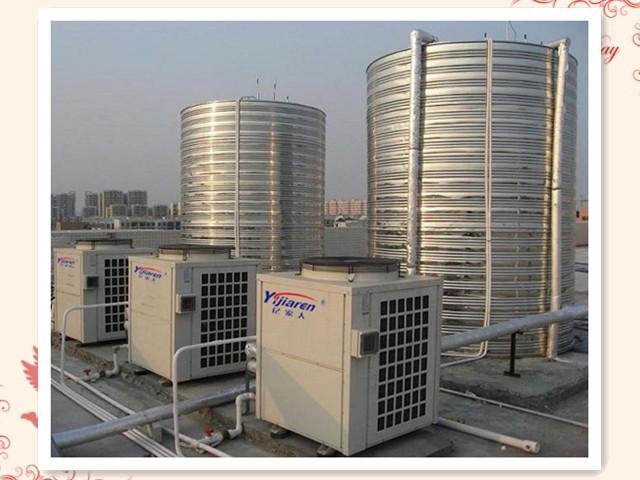 江苏欧贝江阴广业纺织20吨空气能热水系统竣工投运
