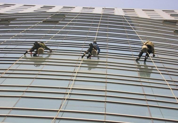 深圳市光明新区厂房,酒店外墙清洗