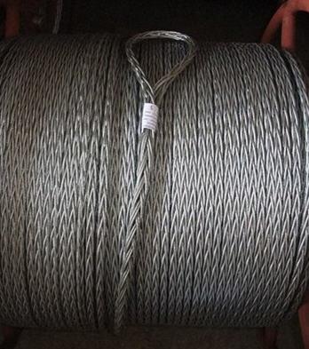 六方十二股钢丝绳 电力绞磨牵引绳