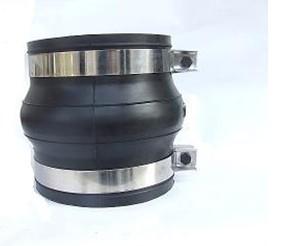 包头 卡箍连接橡胶接头管口处不需要翻边