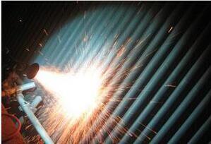 超音速电弧喷涂工程施工工艺