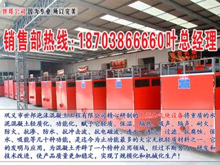 巩义世邦免蒸加气块设备 国内生产基地-加气块设备生产线