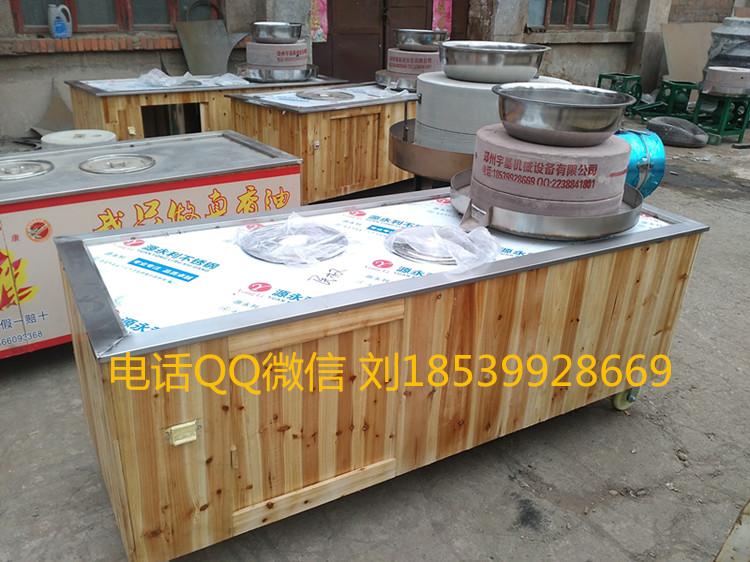 名牌不锈钢石磨柜子郑州石磨芝麻酱柜子 巩义石磨芝麻酱实木展柜