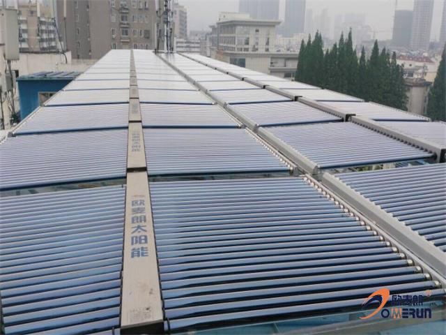 滁州连锁酒店太阳能热水系统成功应用案例介绍