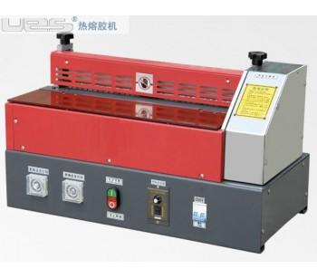 佛山皮件热熔胶滚轮过胶机,惠州制鞋UES热熔胶机