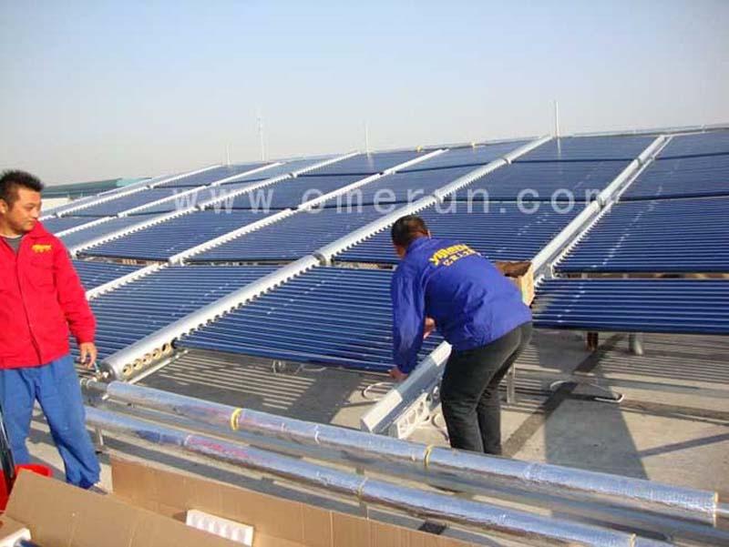 江苏远威重工员工洗浴太阳能热水工程