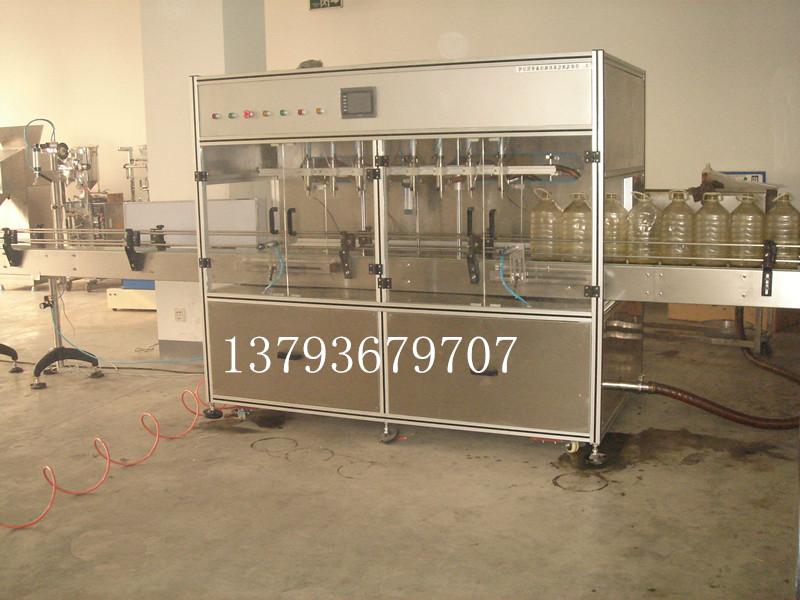 直线灌装机 油类灌装机可灌装多种液体