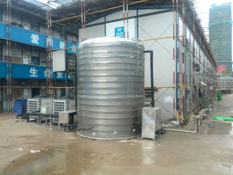 常州中天混凝土5吨空气能热水工程