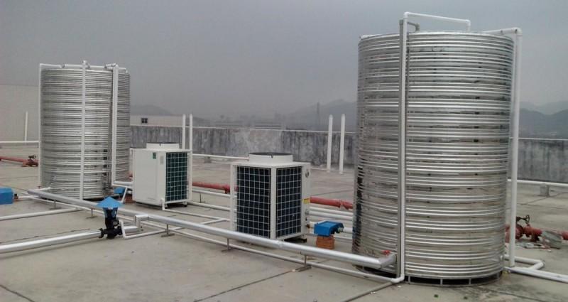 莆田景宏商务酒店空气能热水工程