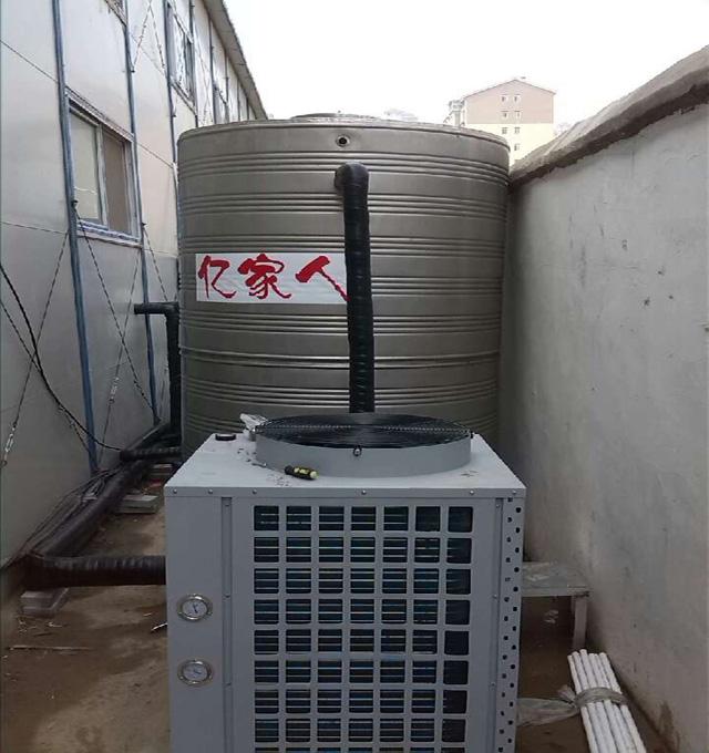 开封某建筑工地8吨空气能热水工程