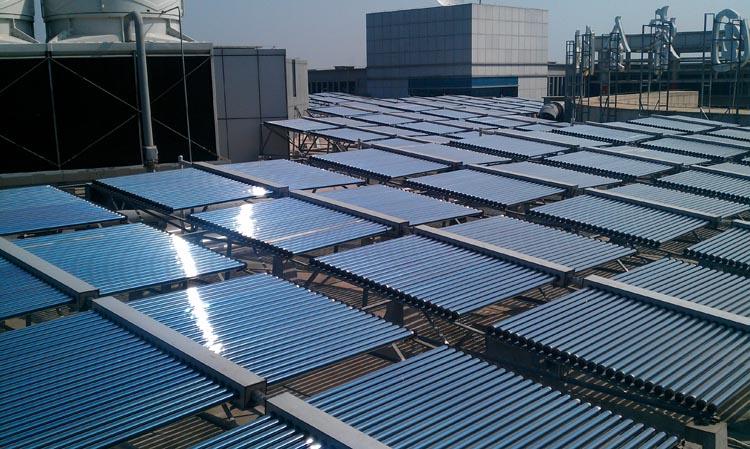 承接商用太阳能热水工程