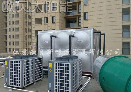 宣城香江金郡足浴会所15吨热水工程