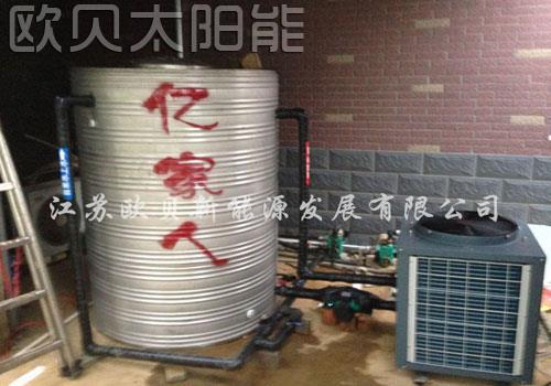 长兴农家乐宾馆空气能热水系统