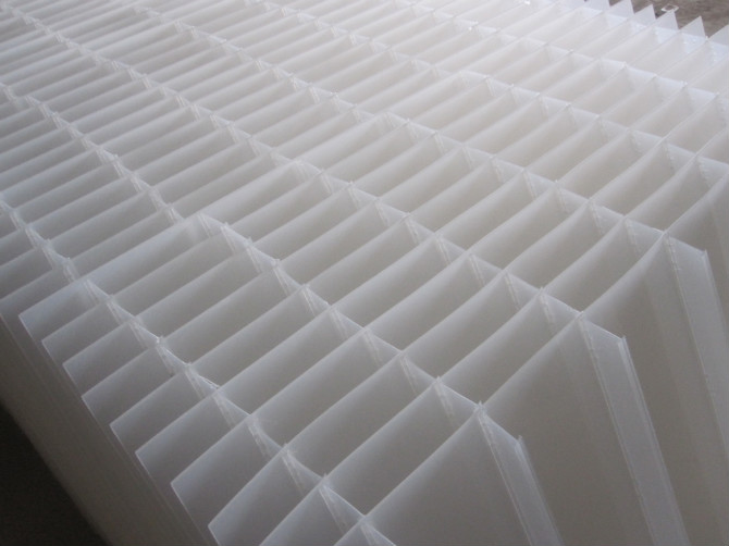 斜板填料  乙丙共聚斜板填料  小间距斜板填料厂家电话