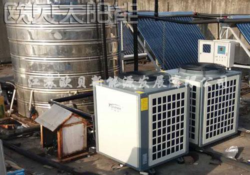 上海声科家居空气能中央热水系统