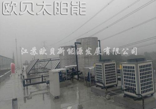 苏州伟创平板太阳能热水工程