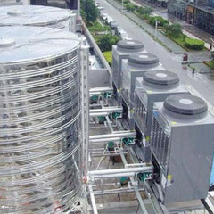 空气源热泵冷暖机组10P酒店采暖热水专用