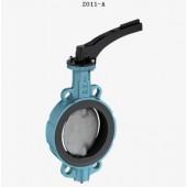 德国依博罗Z011-A对夹式手动蝶阀