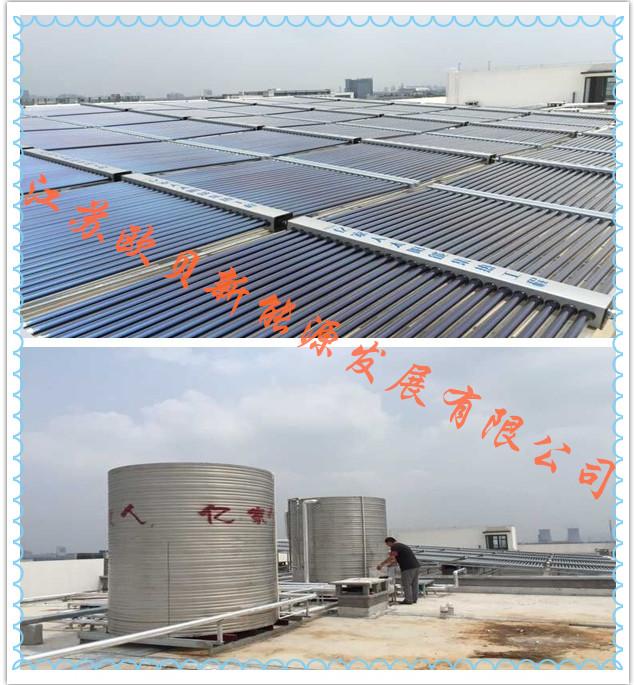 天能集团杭州基地16吨热水方案