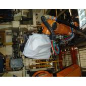 爱默生机器人防护衣,爱默生焊接机器人防护衣,订做任何尺寸