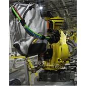 工业机器人铝箔防护衣,铝箔耐高温防护衣,机器人防护