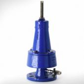 德国Mankenberg溢流阀,用于简单调节任务的阀门,环氧涂层的铸铁阀门