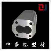 中多齿轮泵体铝型材铝合金液压齿轮泵6005工业铝型材定制加