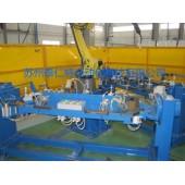 双工位安川机器人焊接