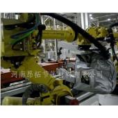 昂拓专业阻燃机器人防护服,焊枪机器人防护服