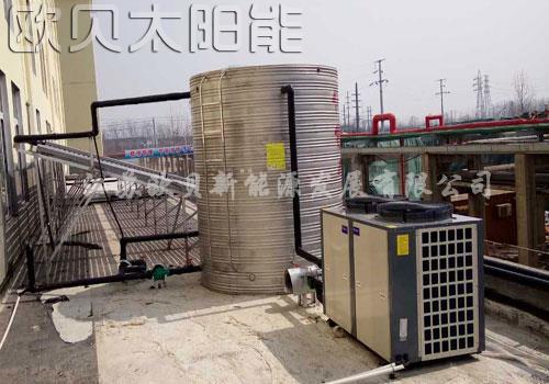 三聚能源宿迁工地太阳能和空气能热水工程