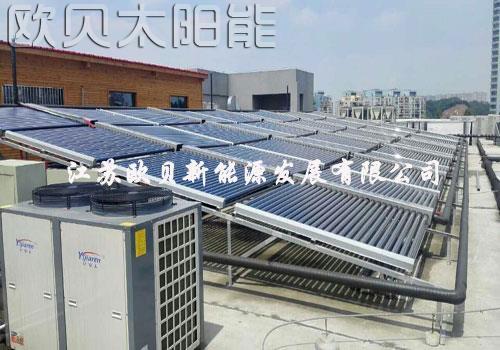 安徽蚌埠玉金香大酒店热水系统方案