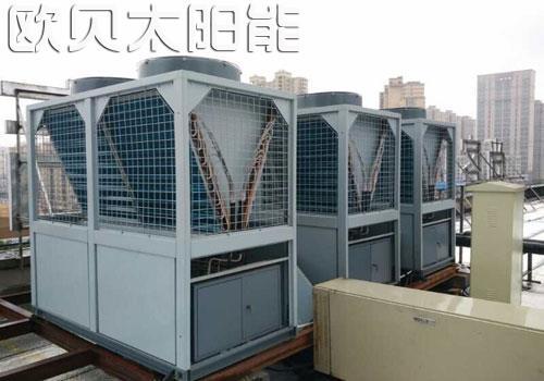 河北莫泰酒店热泵冷暖系统及中央热水系统